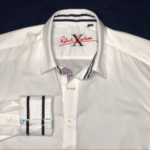 Robert Graham Flip Cuff Button Front Shirt